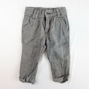 Genuine Kids OshKosh Baby Boy Gray Tweed Pants 12